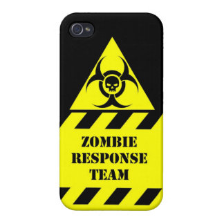 Zombie response team keep calm and kill zombies fu iPhone 4 case