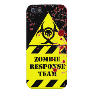 Zombie response team keep calm and kill zombies fu iPhone 5/5S cover