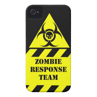 Zombie response team keep calm and kill zombies iPhone 4 Case-Mate case