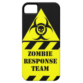 Zombie response team keep calm and kill zombies iPhone 5 case