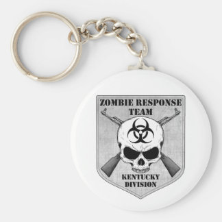 Zombie Response Team: Kentucky Division Basic Round Button Keychain