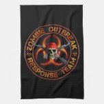 Zombie Response Team Kitchen Towels