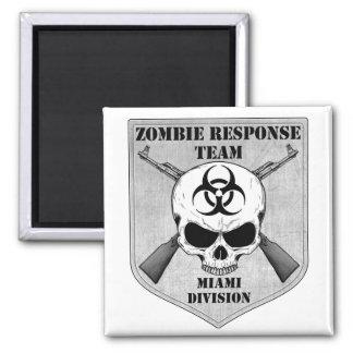 Zombie Response Team Miami Division Fridge Magnets
