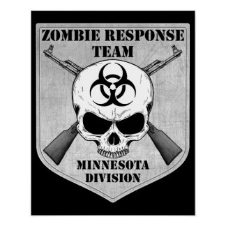 Zombie Response Team: Minnesota Division Poster