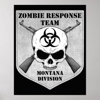 Zombie Response Team: Montana Division Poster