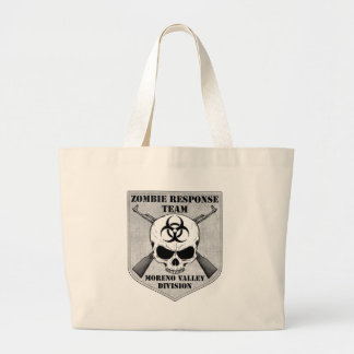 Zombie Response Team: Moreno Valley Division Large Tote Bag