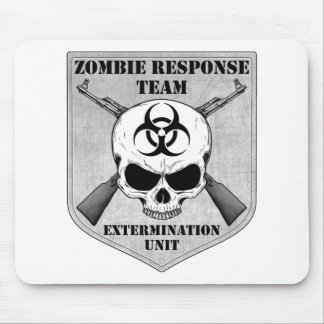 Zombie Response Team Mouse Pad