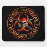 Zombie Response Team Mouse Pad