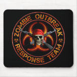 Zombie Response Team Mouse Pads