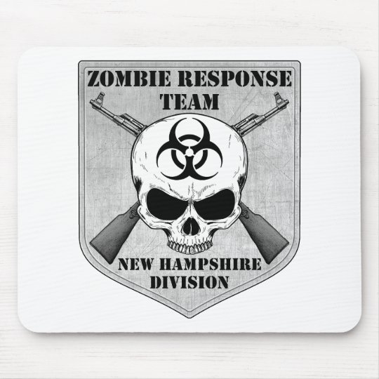 Zombie Response Team: New Hampshire Division Mouse Pad