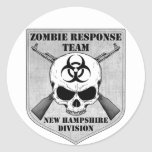Zombie Response Team: New Hampshire Division Stickers