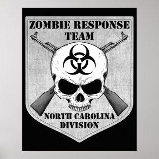 Zombie Response Team: North Carolina Division Poster