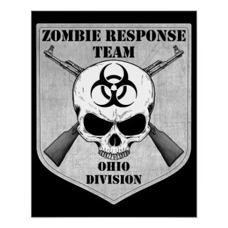 Zombie Response Team: Ohio Division Poster