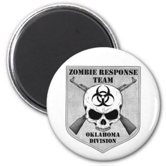 Zombie Response Team: Oklahoma Division 2 Inch Round Magnet