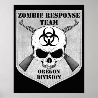 Zombie Response Team: Oregon Division Poster