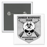 Zombie Response Team: Pennsylvania Division Pinback Buttons