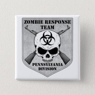 Zombie Response Team: Pennsylvania Division Pinback Button