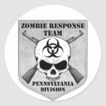 Zombie Response Team: Pennsylvania Division Round Sticker