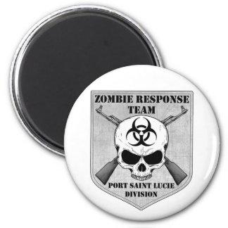 Zombie Response Team: Port Saint Lucie Division 2 Inch Round Magnet