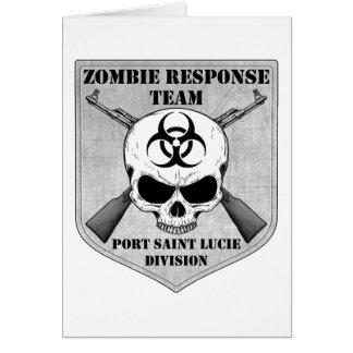 Zombie Response Team: Port Saint Lucie Division Card