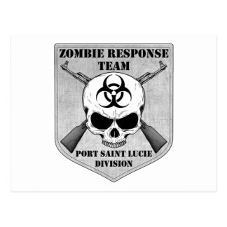Zombie Response Team: Port Saint Lucie Division Postcard