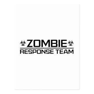 Zombie Response Team Postcard