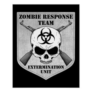 Zombie Response Team Posters
