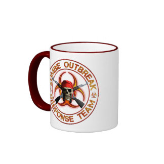 Zombie Response Team Ringer Mug