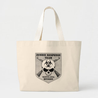 Zombie Response Team: Santa Ana Division Large Tote Bag