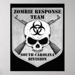 Zombie Response Team: South Carolina Division Posters