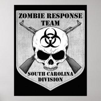 Zombie Response Team South Carolina Division Posters