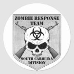 Zombie Response Team: South Carolina Division Round Sticker