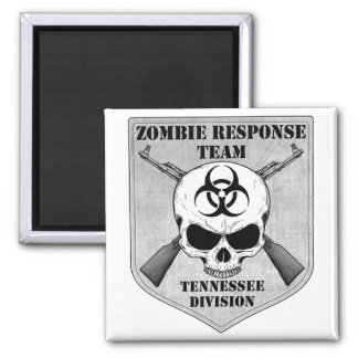 Zombie Response Team: Tennessee Division 2 Inch Square Magnet