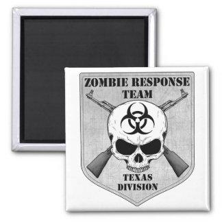 Zombie Response Team Texas Division Fridge Magnet
