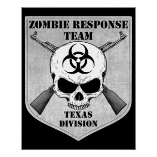 Zombie Response Team: Texas Division Poster