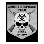 Zombie Response Team: Texas Division Posters