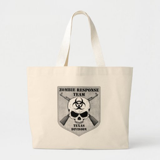 Zombie Response Team: Texas Division Tote Bags