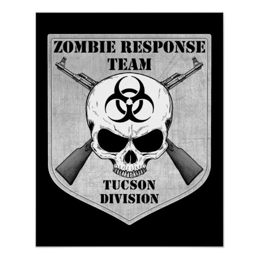 Zombie Response Team: Tucson Division Posters
