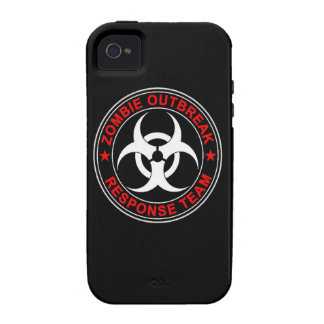 Zombie Response Team Walking Walkers Dead Case-Mate iPhone 4 Cover