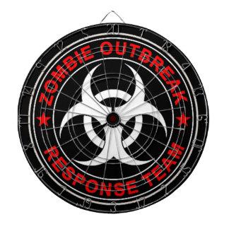Zombie Response Team Walking Walkers Dead Dart Board
