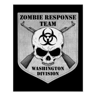Zombie Response Team: Washington Division Poster