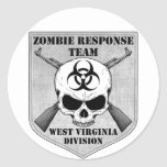 Zombie Response Team: West Virginia Division Sticker