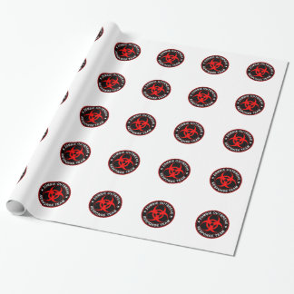 Zombie Response Walking Bio Dead Wrapping Paper