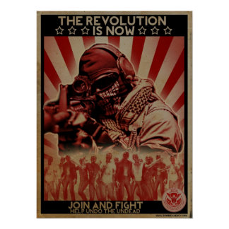 Zombie Revolution Poster - ZETA