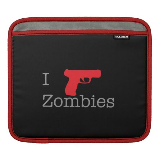 Zombie Rick Sleeves For iPads