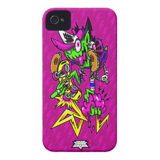 Zombie Rider iPhone 4 Case-Mate Cases