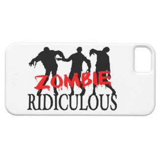 Zombie Ridiculous iPhone SE/5/5s Case