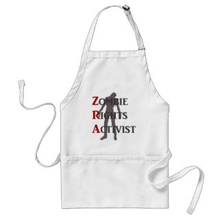 Zombie Rights Activist Aprons