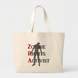 Zombie Rights Activist Canvas Bag