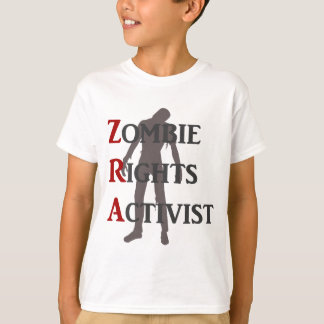 Zombie Rights Activist T-Shirt